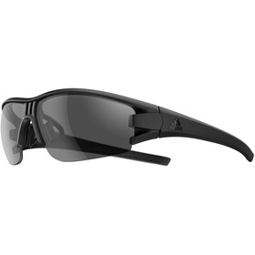 adidas Evil Eye Halfrim Brille black matt/grey